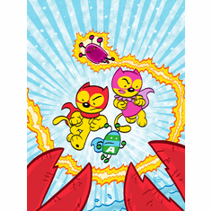 ACTION CAT and ADVENTURE BUG #4