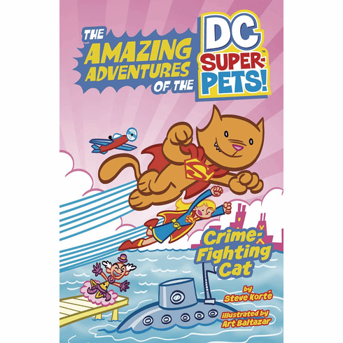 Crime-Fighting Cat! featuring STREAKY!