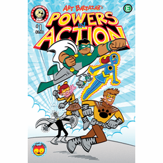 POWERS IN ACTION #1