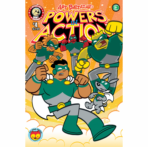 POWERS IN ACTION #4
