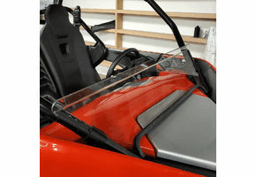 3 Star Tinted Half Front Lexan Windshield - CF Moto ZForce 950