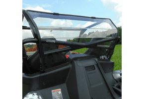 3 Star Tinted Rear Lexan Windshield - CF Moto ZForce 950