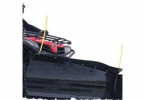 72 Inch Eagle Country Blade Snow Plow Kit - 2001-20 Kawasaki Mule
