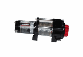 Eagle 2500 lb. Winch - Steel Cable