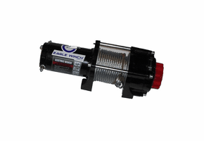 Eagle 3500 lb. Winch - Steel Cable