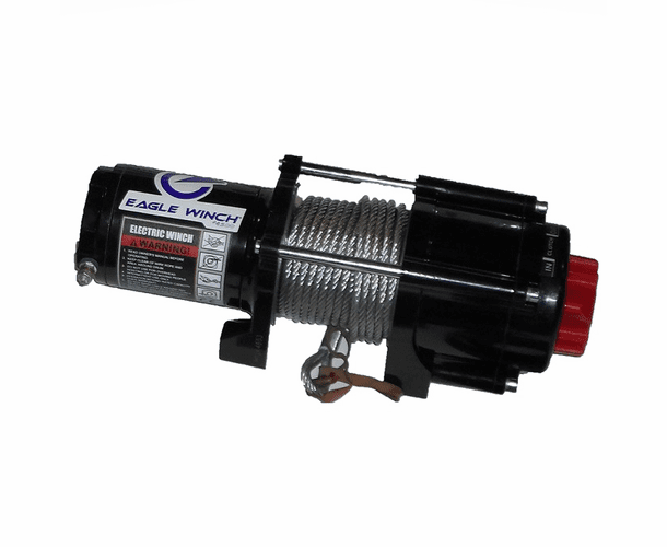 Eagle 4500 lb. Winch - Steel Cable