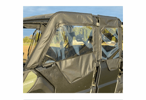 Falcon Ridge Soft Doors - Can Am Defender Max
