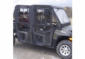 Full Hard Cab Enclosure by Hard Cabs - 2010-14 Full Size Polaris Ranger 800 Crew