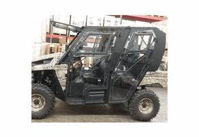 Full Hard Cab Enclosure by Hard Cabs - 2013-17 Kawasaki Teryx4