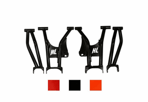 High Lifter Rear Raked Upper and Lower Control Arms - Polaris RZR Trail   Trail S Sport   Trail S 1000