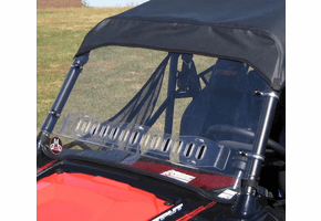 Falcon Ridge Aero-Vent Front Windshield - 2008-18 Polaris RZR 570 | S 570 | 800 | S 800 | XP 900