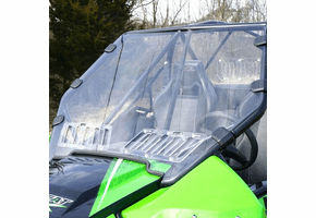 Falcon Ridge Aero-Vent Front Windshield - 2017 Arctic Cat Wildcat 1000 | X