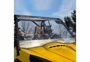 Falcon Ridge Aero-Vent Front Windshield - Can Am Commander