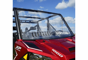 Falcon Ridge Aero-Vent Front Windshield - Full Size Polaris Ranger