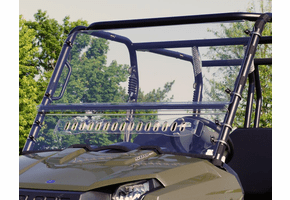 Falcon Ridge Aero-Vent Front Windshield - Mid Size Polaris Ranger