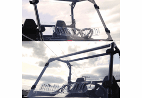 Falcon Ridge Aero-Vent Front Windshield - Polaris Ranger 150