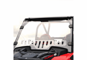 Falcon Ridge Aero-Vent Front Windshield - Polaris RZR XP Turbo S