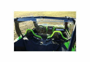 Falcon Ridge Aero-Vent Hard Rear Windshield - Honda Talon 1000