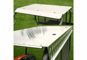 Falcon Ridge Aluminum Diamond Plate Top - Kawasaki Mule 600 | 610