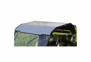 Falcon Ridge Black Aluminum Diamond Plate Hard Top - CF Moto UForce 500 | 800