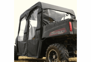 Falcon Ridge Doors, Rear Window and Top |No Windshield| - Full Size Polaris Ranger Crew