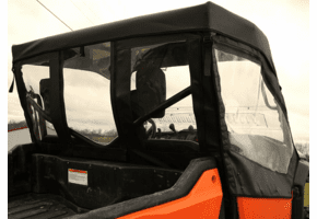 Falcon Ridge Doors, Rear Window and Top |No Windshield| - Honda Pioneer 1000