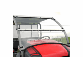 Falcon Ridge Folding Aero-Vent Front Windshield - Kawasaki Mule 600 | 610