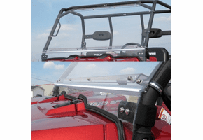 Falcon Ridge Folding Front Windshield - Bobcat 3400
