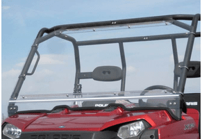 Falcon Ridge Folding Front Windshield - Full Size Polaris Ranger
