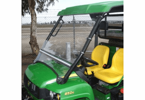 Falcon Ridge Folding Front Windshield - John Deere Gator