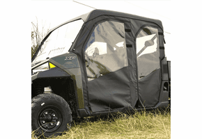 Falcon Ridge Full Cab Enclosure w| Aero-Vent Windshield - 2011-14 Mid Size Polaris Ranger 500 | 570 Crew