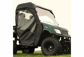 Falcon Ridge Full Cab Enclosure w| Aero-Vent Windshield - American Sportworks Landmaster 500