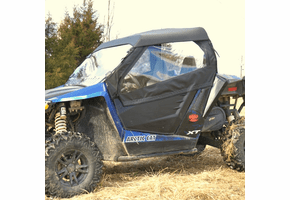 Falcon Ridge Full Cab Enclosure w| Aero-Vent Windshield - Arctic Cat Wildcat Trail | Sport