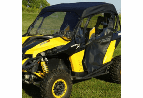 Falcon Ridge Full Cab Enclosure w| Aero-Vent Windshield - Can Am Maverick