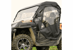 Falcon Ridge Full Cab Enclosure w| Aero-Vent Windshield - CF Moto UForce 500 | 800