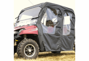Falcon Ridge Full Cab Enclosure w| Aero-Vent Windshield - Full Size Polaris Ranger Crew