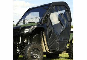 Falcon Ridge Full Cab Enclosure w| Aero-Vent Windshield - Honda Big Red