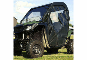 Falcon Ridge Full Cab Enclosure w| Aero-Vent Windshield - Honda Pioneer 500 | 520