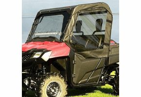 Falcon Ridge Full Cab Enclosure w| Aero-Vent Windshield - Honda Pioneer 700