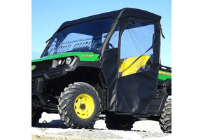 Falcon Ridge Full Cab Enclosure w| Aero-Vent Windshield - John Deere Gator