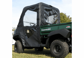 Falcon Ridge Full Cab Enclosure w| Aero-Vent Windshield - Kawasaki Mule 4000 | 4010