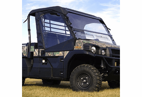 Falcon Ridge Full Cab Enclosure w| Aero-Vent Windshield - Kawasaki Mule Pro-FX | DX