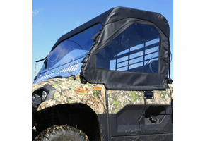 Falcon Ridge Full Cab Enclosure w| Aero-Vent Windshield - Kawasaki Mule Pro-MX