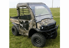 Falcon Ridge Full Cab Enclosure w| Aero-Vent Windshield - Kawasaki Mule SX