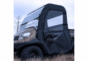 Falcon Ridge Full Cab Enclosure w| Aero-Vent Windshield - Kubota RTV
