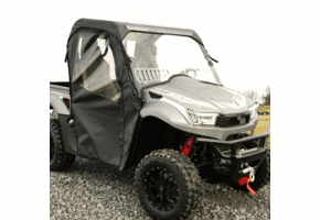 Falcon Ridge Full Cab Enclosure w| Aero-Vent Windshield - Kymco UXV 450 | 500 | 700