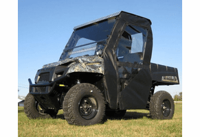 Falcon Ridge Full Cab Enclosure w| Aero-Vent Windshield - Mid Size Polaris Ranger