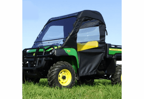Falcon Ridge Full Cab Enclosure w| Folding Windshield - John Deere Gator