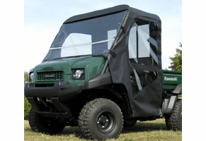 Falcon Ridge Full Cab w| Folding Windshield - Kawasaki Mule 3000 | 3010 | 4000 | 4010