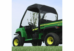 Falcon Ridge Full Folding Front Windshield, Soft Top and Rear Window - 2004-10 John Deere Gator HPX | XUV 620i | 625i | 825i | 850d | 855d